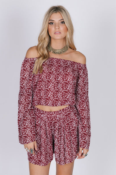 Wild Love Off The Shoulder Top