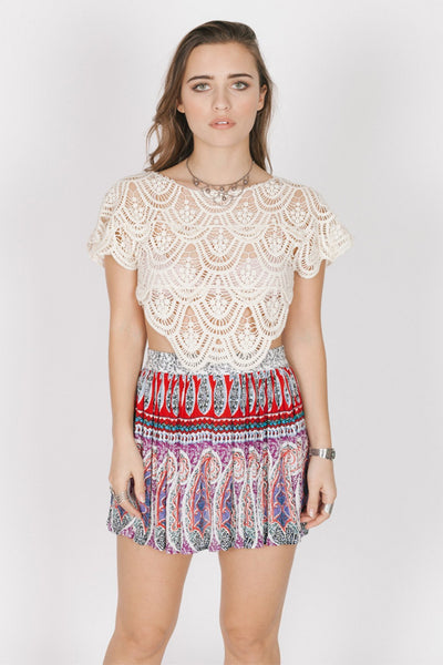Love Spell Mini Skirt