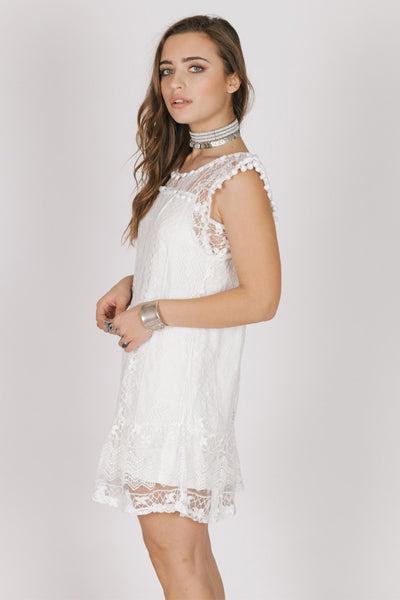 Vanilla Lace Dress