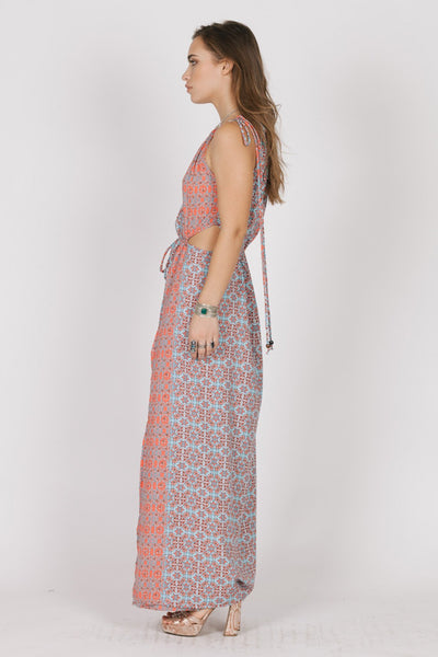 SERENA SIDECUT MAXI DRESS