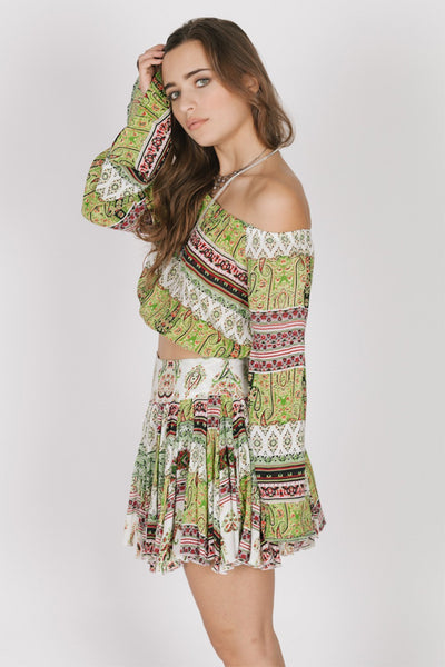 Caravan Shoulder Top
