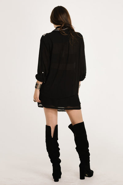 Rosanna Roll Sleeve Shirt