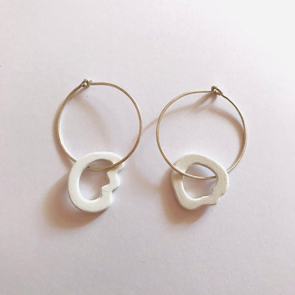 Cockle Threaded Earrings