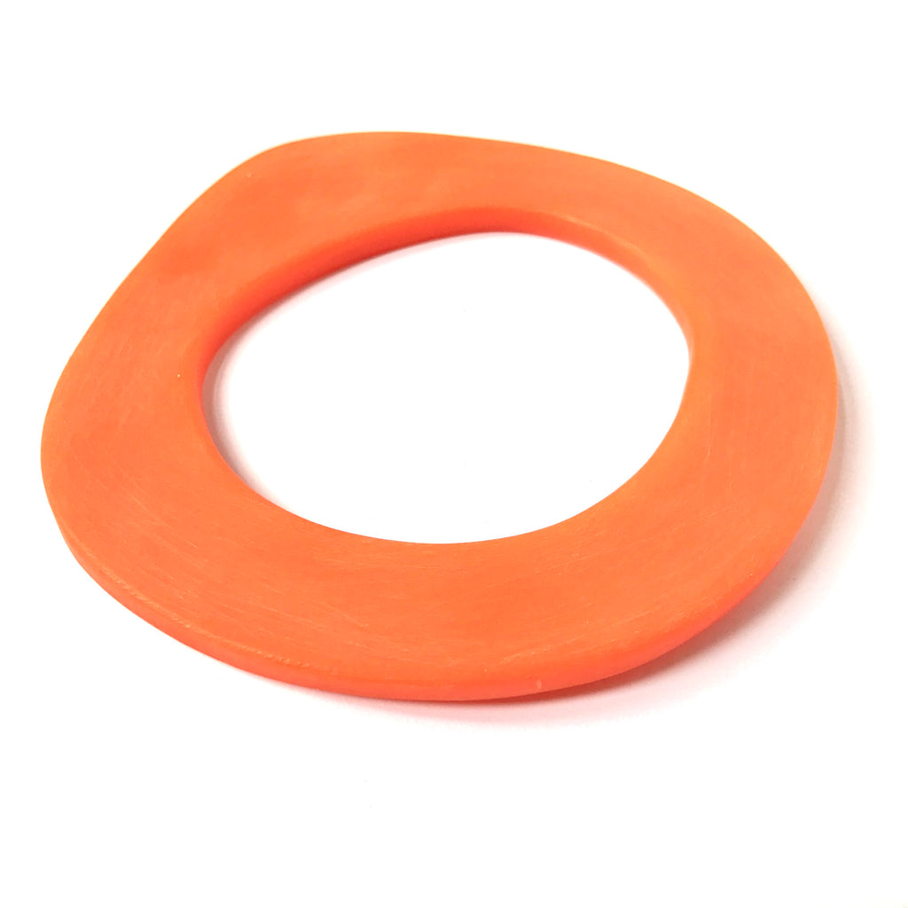 Bright orange bangle