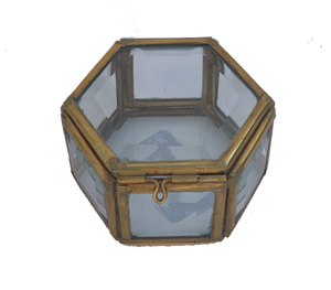 Hexagon Mirrored Box