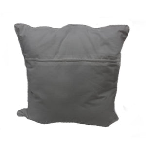 pillow minimal grey simple cotton handmade bali