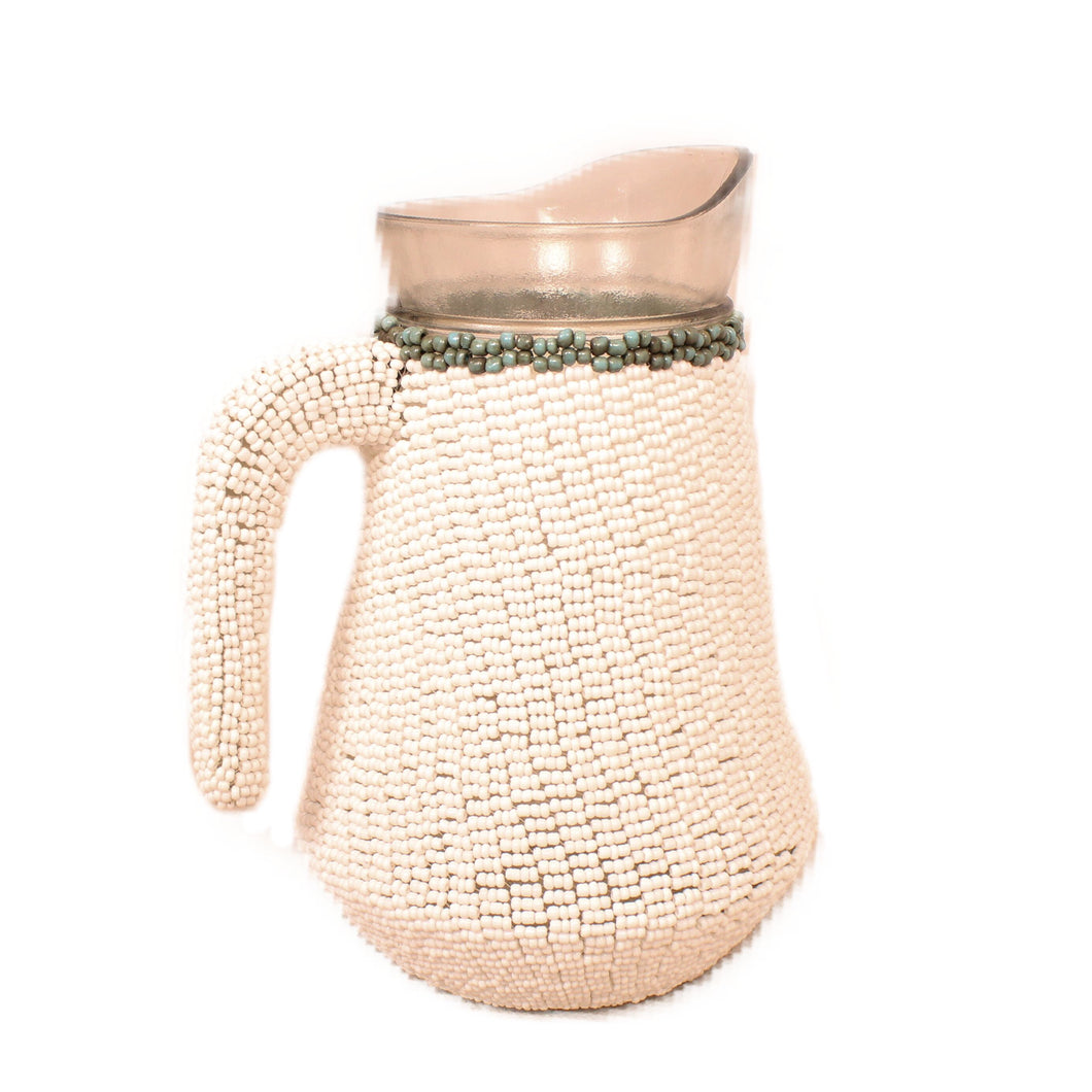 pitcher water beaded bali ethical sustainable