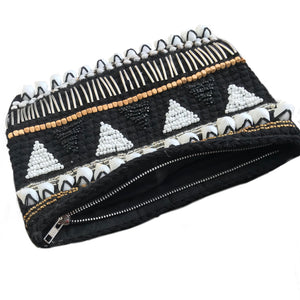 Kulit Clutch in Black