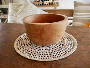 centerpiece handmade rattan bali ethical sustainable decor