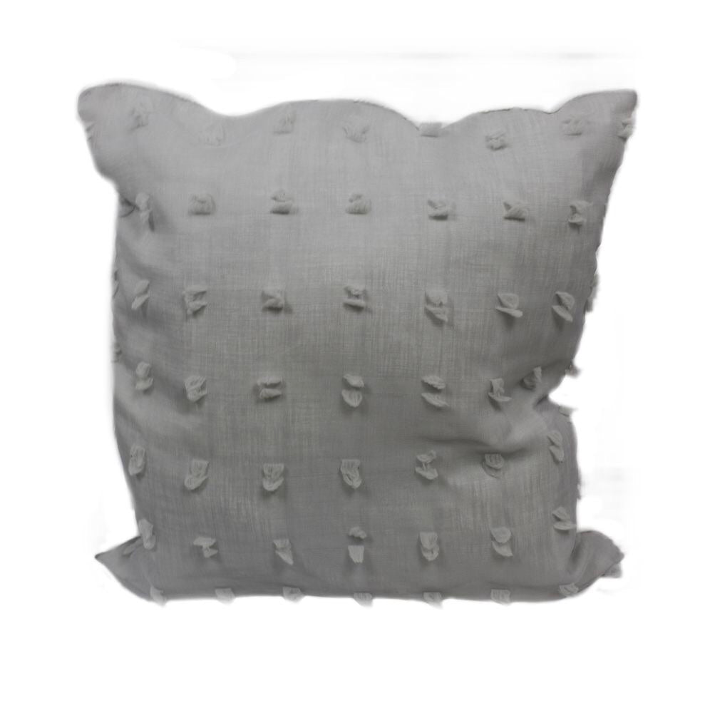 tufted pillow cover neutral minimal decor