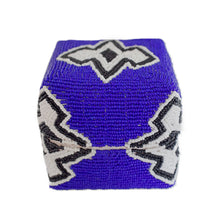 Blue Tribal Design Bali Basket