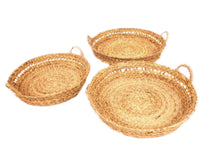 Round Nesting Trays- Set of Three
