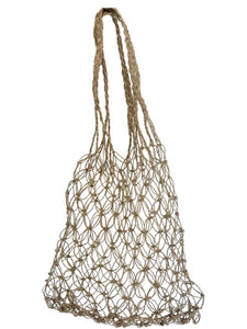 net bag handmade bali natural ethical sustainable beach