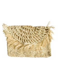raffia cute clutch handmade bali sustainable ethical accessory