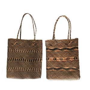 market bag handmade woven bali ethical sustainable reusable shopping handbag