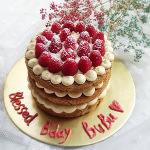 Rustic Fruits Topper Cake (9-inch)