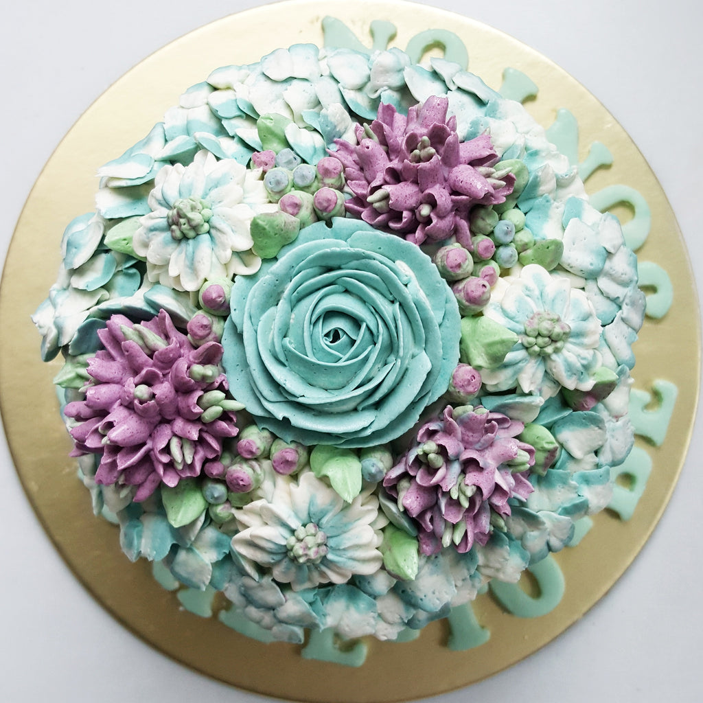 Blossom Floral Cake (6-inch)