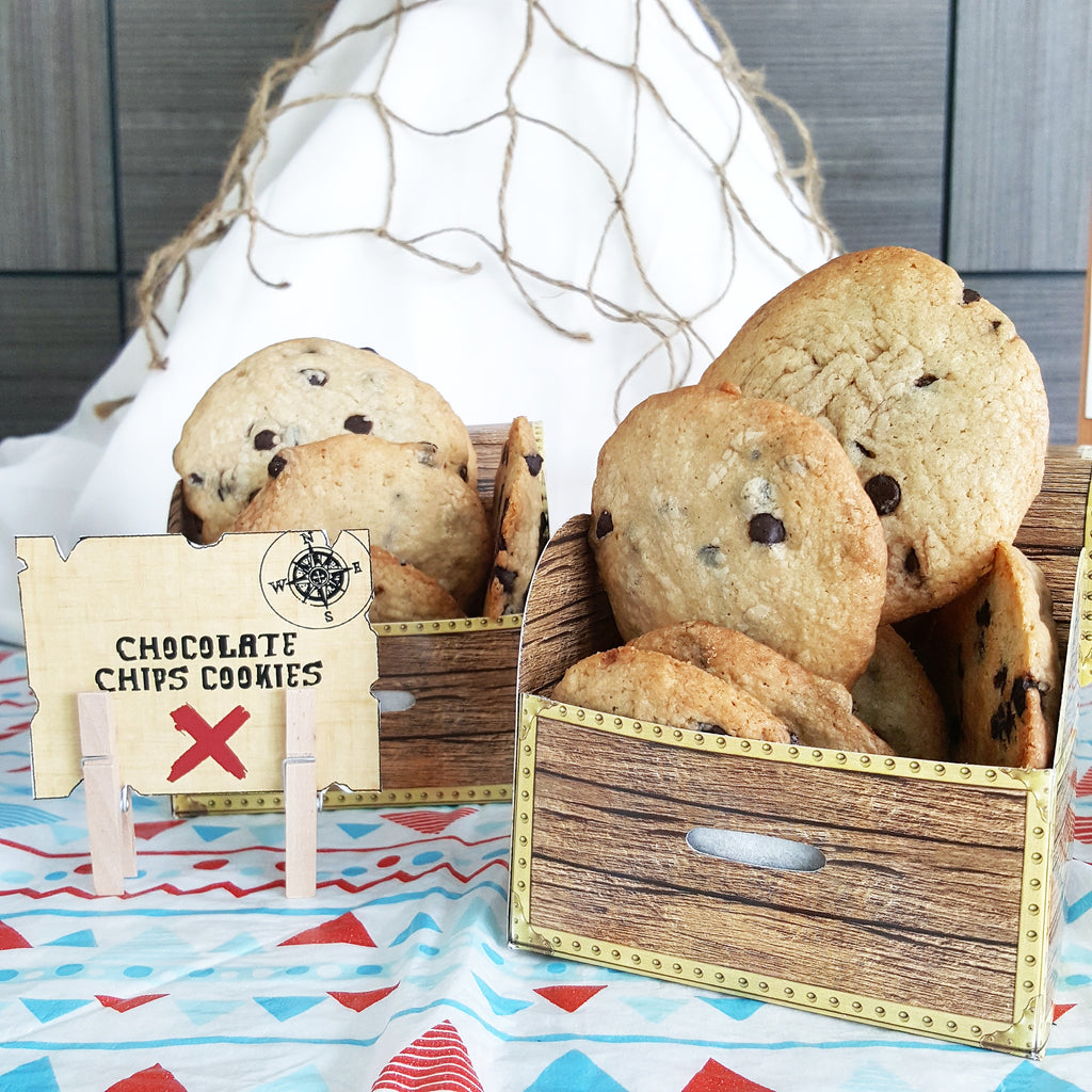 Chocolate Chips Cookies (20pcs)