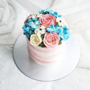 Blossom Floral Cake (4-inch)