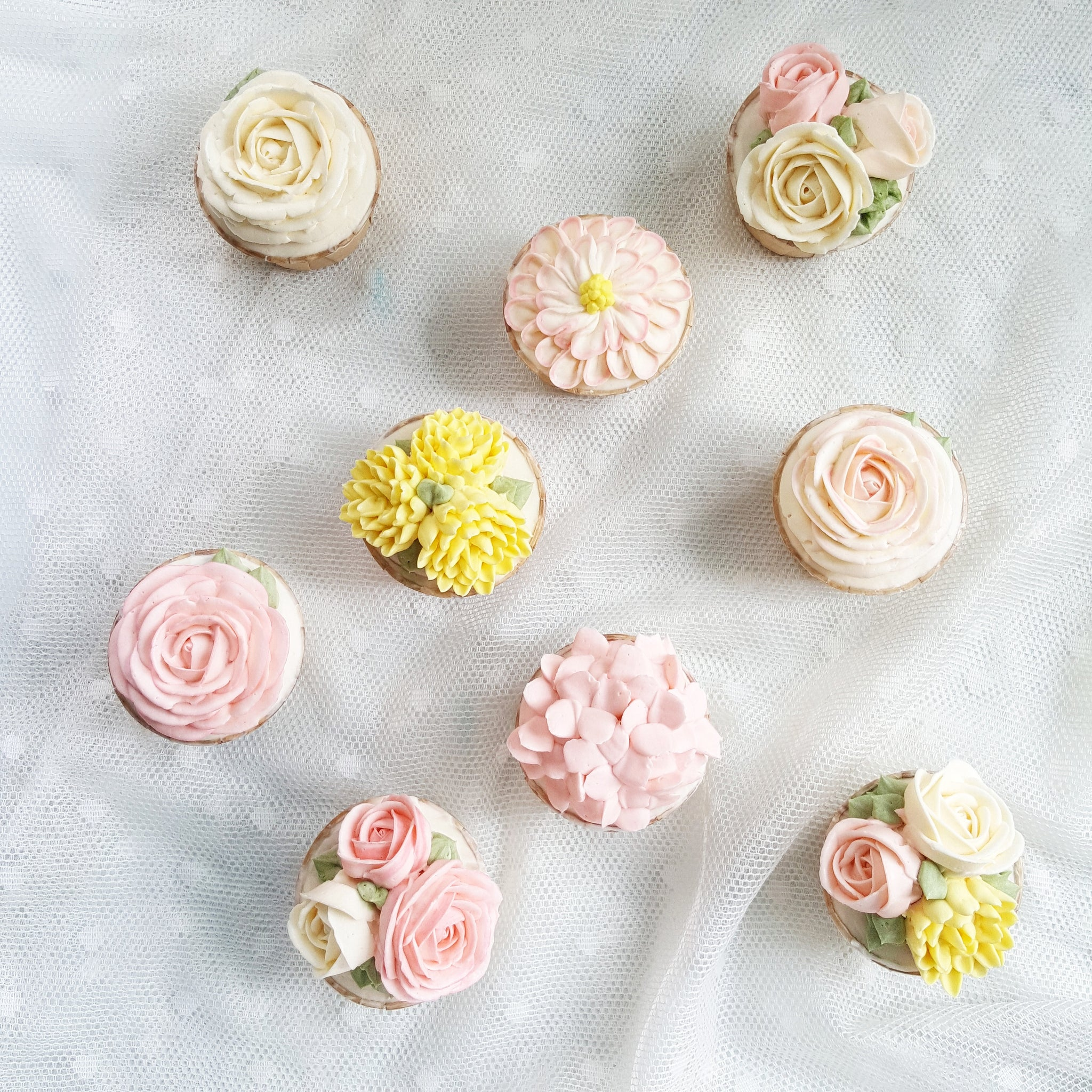 Blossom Floral Cupcakes