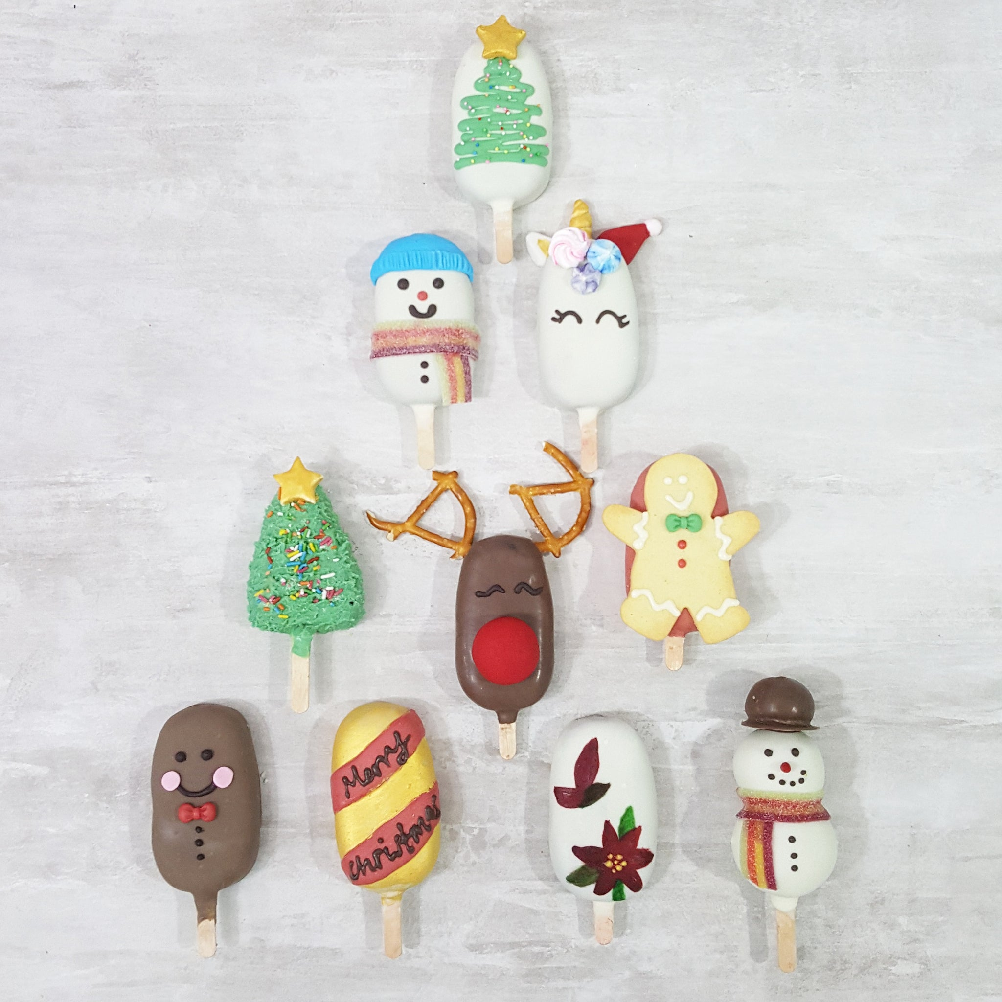 CHRISTMAS SPECIAL: Winter Cakepopsicles