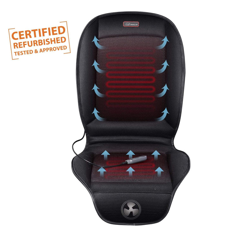 SNAILAX Seat Cushion USA CERTIFIED REFURBISHED-Heating Car Seat Cushion with 2 Levels Heating & 3 Levels Cooling  - 26A8