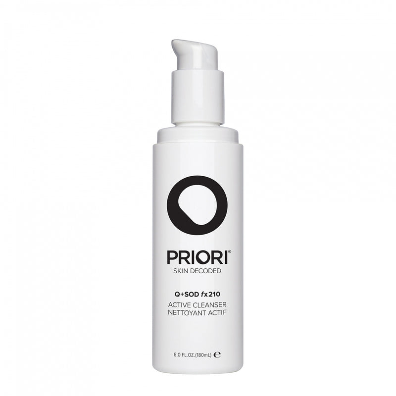 Priori Q+SOD fx210 Active Cleanser 180ml