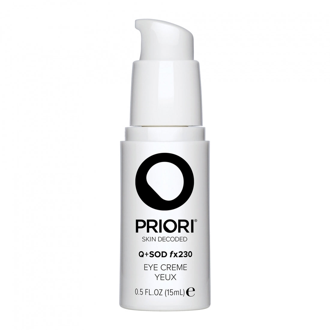 Priori Q+SOD fx230 Eye Creme 15ml