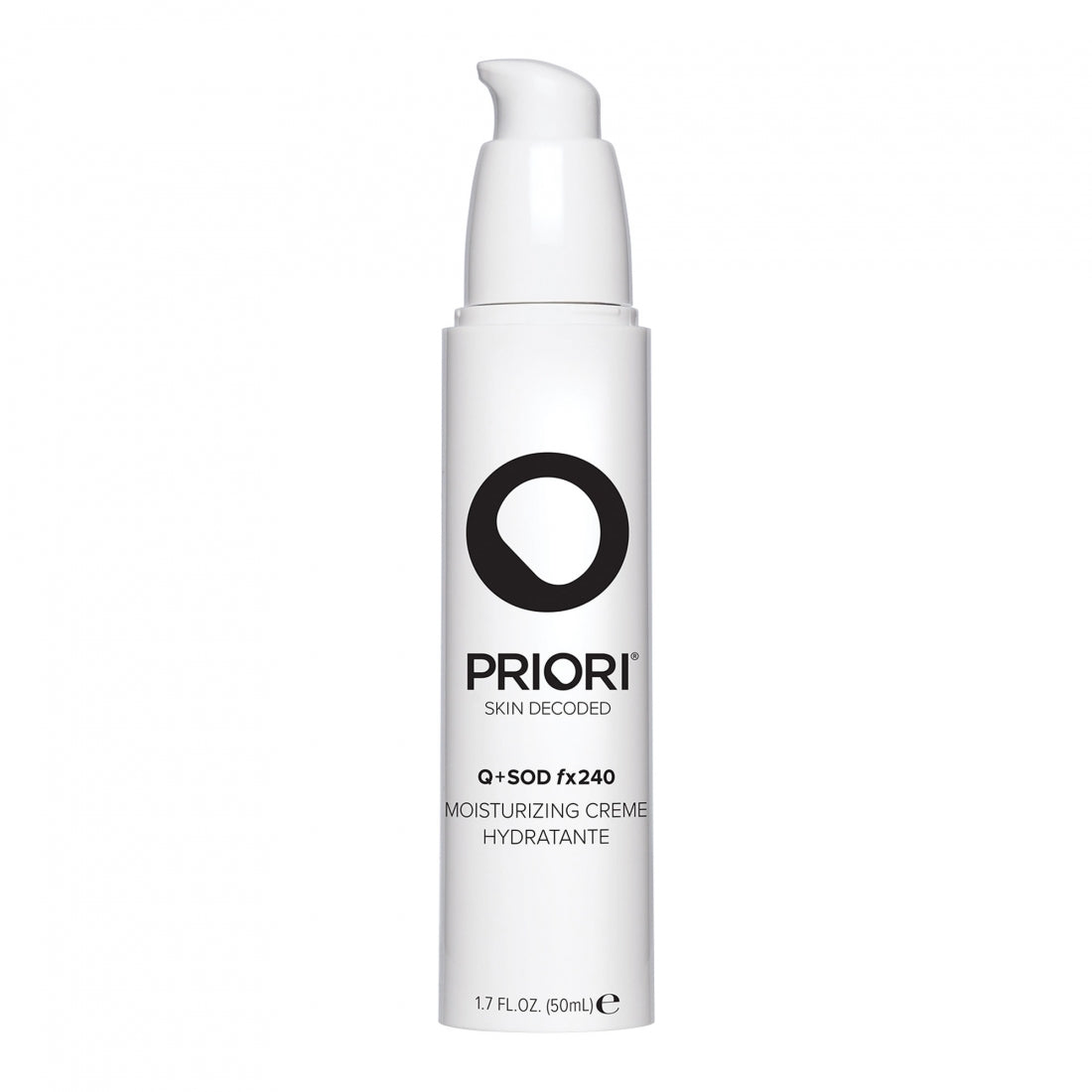 Priori Q+SOD fx240 Moisturizing Creme 50ml