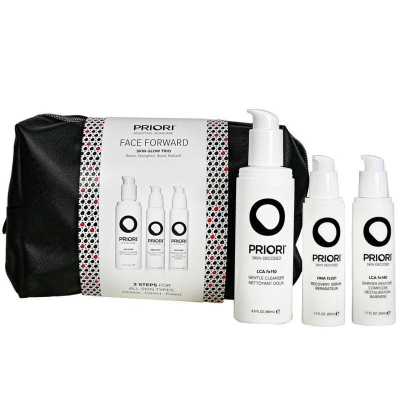 Priori Face Forward Skin Glow Trio 1stk