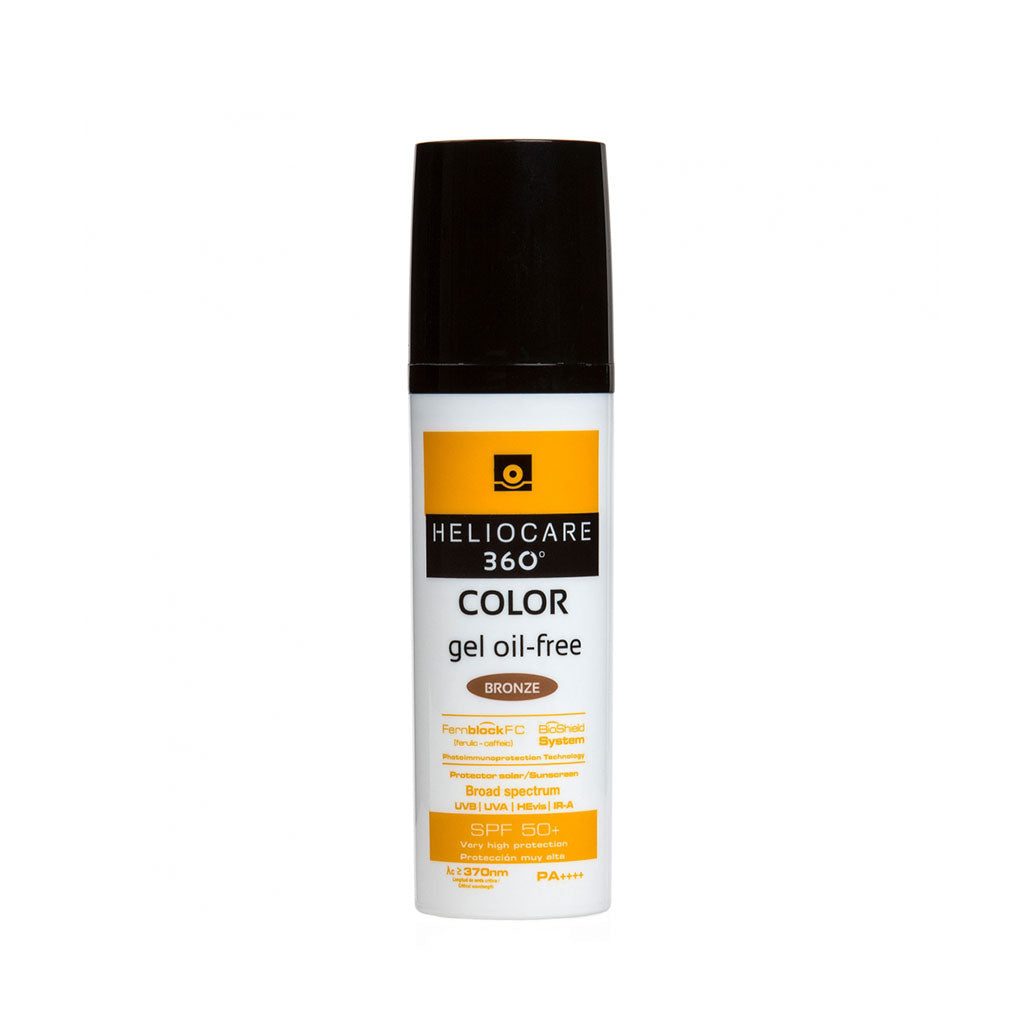 Heliocare 360° Color Oil-free Gel SPF 50+50ml
