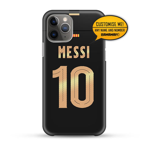 Barcelona Away 10 Messi - Cup Lettering