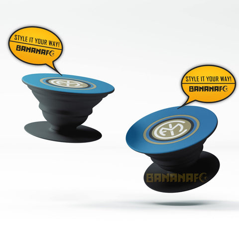 Inter Milan Minimalist Popsocket - Black