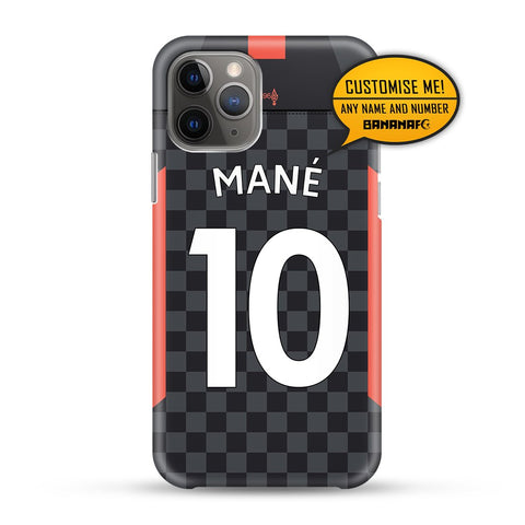 Liverpool Third 10 Mane - PL Lettering