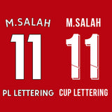 Liverpool Home 20-21 Lettering