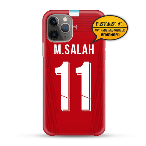 Liverpool Home 11 M.Salah - Cup Lettering