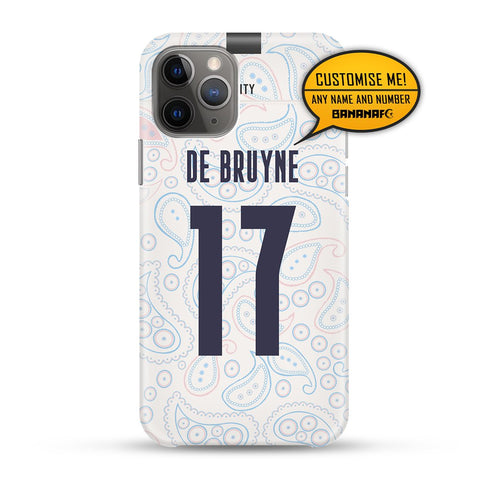 Manchester City Third 17 De Bruyne - Cup Lettering