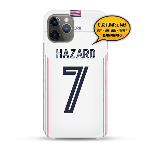Real Madrid Home 7 Hazard - Cup Lettering
