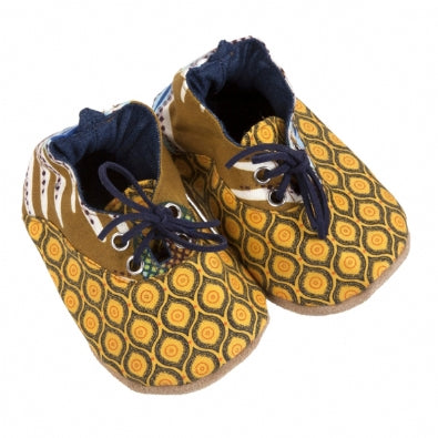 Pumps / Boys - Yellow and Blue Takkie - M0309