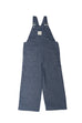 Dungarees / Unisex - Denim and Blue Tree Wax Print - M0297