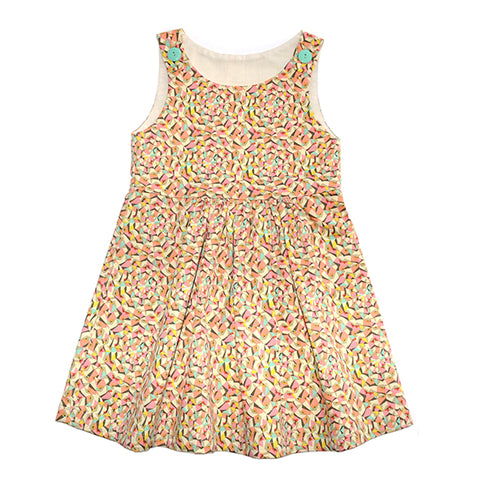 Dress / Girls - Popsicle Pinafore - M0361