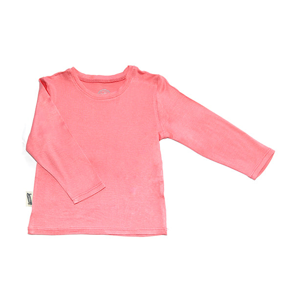 T-Shirt / Girls - Coral - M0356