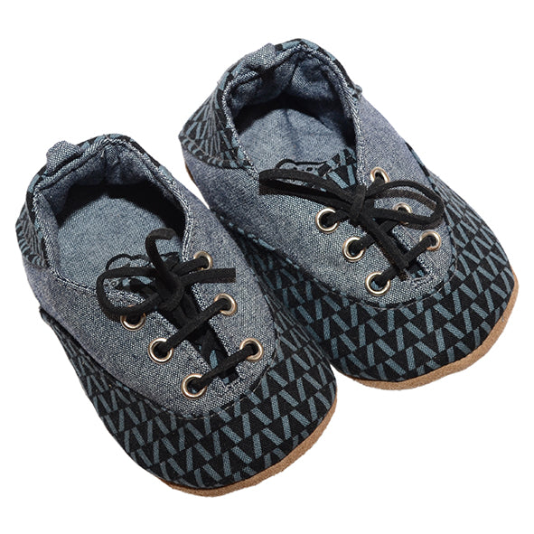 Takkie / Boys - Black and Grey - M0371