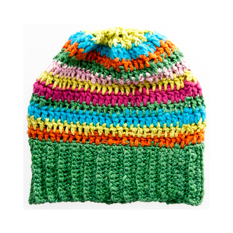 Winter Beanies / Girls - Bright Stripes - M0112