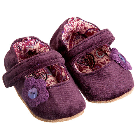 Mary Jane / Girls - Plum Velvet - M0258