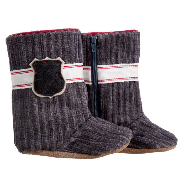 Boots / Boys - Charcoal Cord - M0264
