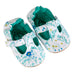 T-Bar / Girl - Green and Blue Floral - M0279