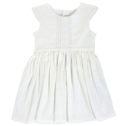 Dress / Girls - White - M0302