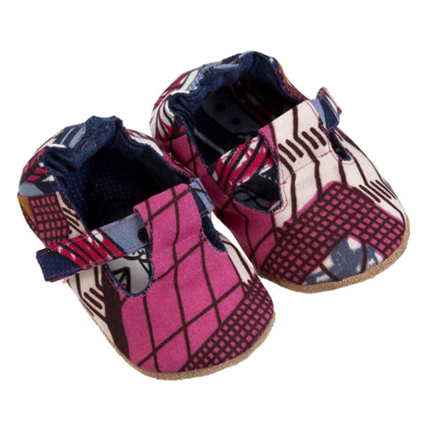 T-Bar / Girl - Pink Wax Print - M0306