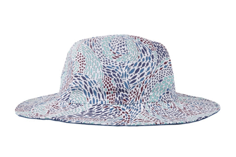 Hat / Boys - Blue Fish Swirl - M0314